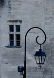 Laterne und Fenster stockfotos