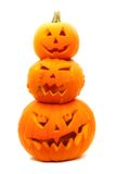 Laternen Halloween-Jack O Lizenzfreies Stockfoto
