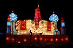 Laternen-Karneval 2013 des Chinesischen Neujahrsfests Lizenzfreie Stockfotografie
