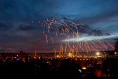 Laternenfestival Lizenzfreie Stockfotos