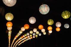 Laternenfestival 2014 Chinesischen Neujahrsfests Lizenzfreie Stockbilder
