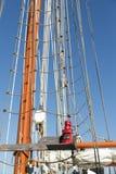 Laternensegelboot Stockfotos