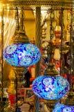 Laterns árabes coloridos Imágenes de archivo libres de regalías