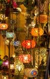 Laterns árabes coloridos Imagenes de archivo