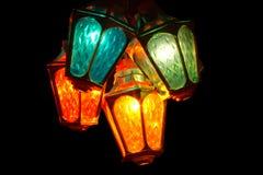Laterns del color Fotografía de archivo libre de regalías