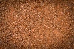 Laterytowa glebowa tekstura, odgórny widok obrazy royalty free