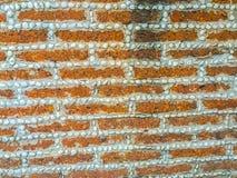 Laterytu kamienia żwiru i bloku junakowania wzór w rubieżnym fen Obraz Royalty Free