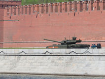 Latest Armata tank Stock Image