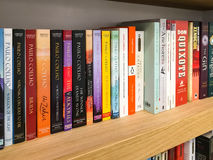 Latest English Famous Novels For Sale In Library Book Store Stock Photos