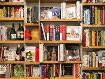 Latest Famous Cook Books For Sale In Library Book Store Stock Photography