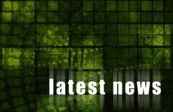 Latest News Stock Image