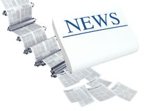 Latest News II Stock Photo
