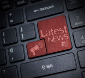 Latest News Stock Images