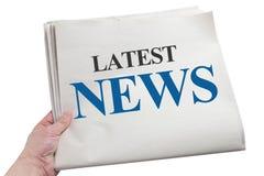 Latest News Royalty Free Stock Photos