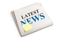 Latest News Stock Photography