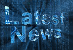 Latest News for technology Royalty Free Stock Photo