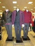 Latest seasonal winter clothes Stock Photography