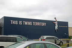 The Latest Sign at CenturyLink Sports Complex Stock Image