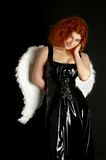 Latex angel Stock Photography