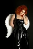 Latex angel Stock Photo