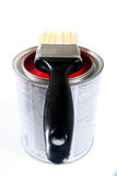 Latex-Bautenanstrichfarbe Lizenzfreie Stockfotos