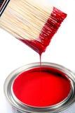 Latex-Bautenanstrichfarbe Stockfotografie