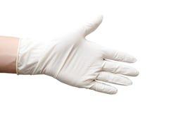 Latex glove Stock Photo