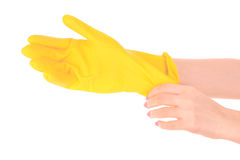 Latex Glove Stock Photos