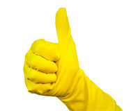 Latex Glove Stock Photo