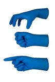 Latex glove Stock Photography