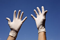 Latex Gloves Royalty Free Stock Images