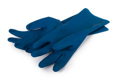 Latex Gloves for Cleaning Stock Photos