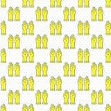 Latex gloves icon seamless pattern Royalty Free Stock Photos