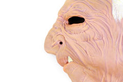 Latex halloween mask Royalty Free Stock Images