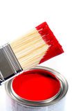 Latex House Paint. Home Improvement Stock Photos