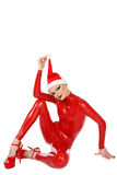Latex Santa helper Stock Photos