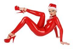Latex Santa helper Royalty Free Stock Image