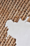 Lath. Background. Stock Photo