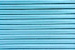 Lath de madeira azul Fotos de Stock