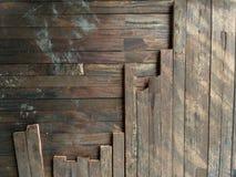 Lath drewniana tekstura Brown obrazy royalty free