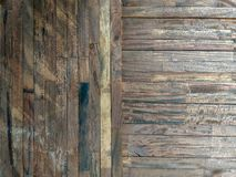 Lath drewniana tekstura Brown obraz stock