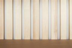 Lath odkłada, drewno stół, drewniany tło, wieśniaka styl zdjęcia royalty free