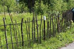 Lath ogrodzenie zdjęcie royalty free