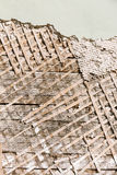 Lath and plaster  background Stock Photos