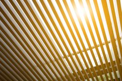 Lath roof texture Royalty Free Stock Image