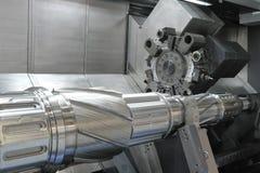 Lathe, филировать CNC Стоковое Изображение RF