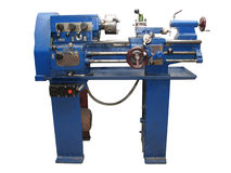 Lathe Royalty Free Stock Images
