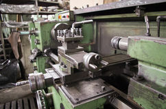 The lathe Stock Image