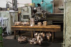 The lathe Stock Images