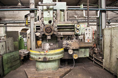 The lathe Royalty Free Stock Photography